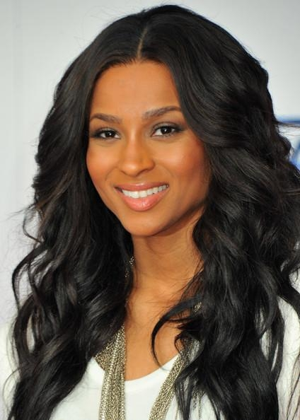 More Pics Of Ciara Long Curls (5 Of 11) – Ciara Lookbook – Stylebistro Throughout Ciara Long Hairstyles (View 14 of 15)