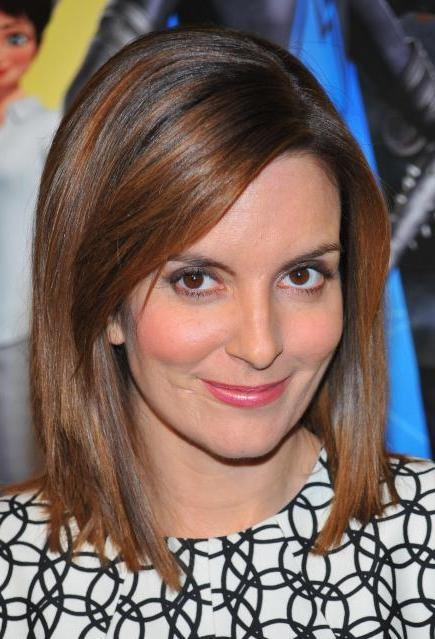 More Regarding Most Recent Tina Fey Shoulder Length Bob Hairstyles (View 8 of 15)