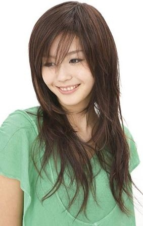 Most Current Asian Long Hairstyles Regarding Asian Women Long Hairstyle With Layers (View 15 of 15)