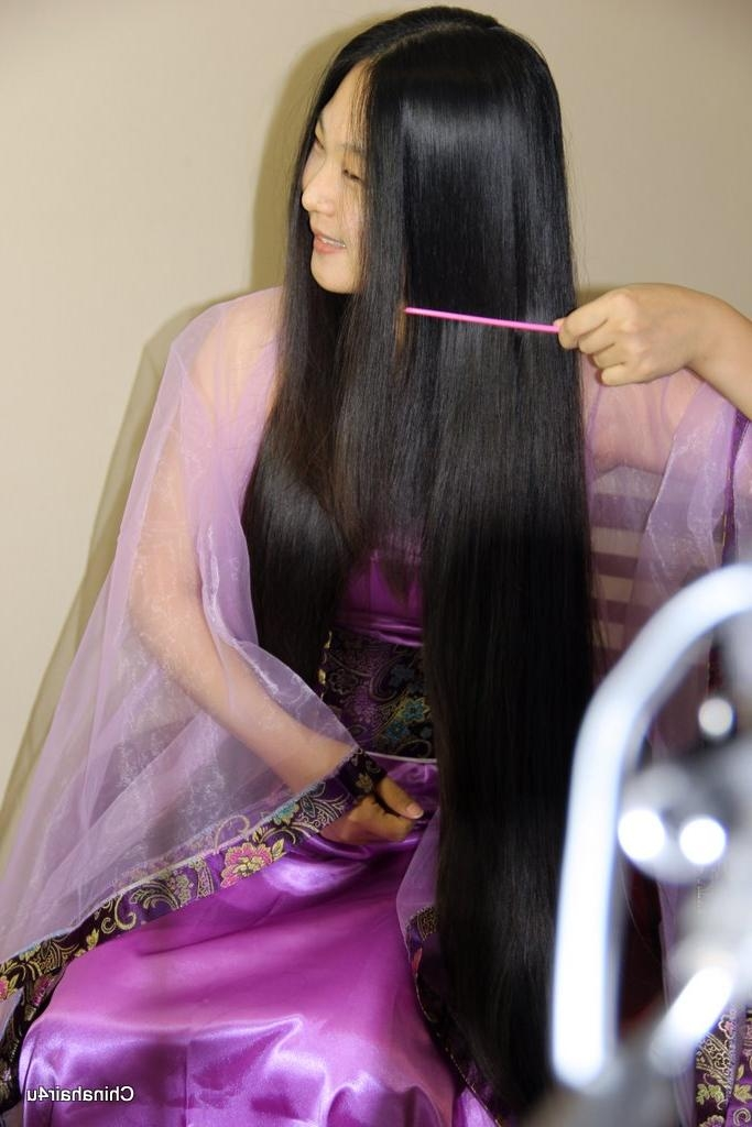 Most Current Chinese Long Haircuts Regarding Chinese Long Haircut – Haircuts Models Ideas (View 9 of 15)