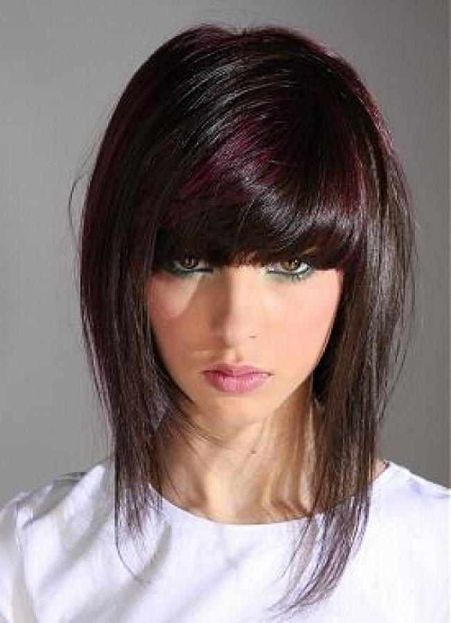 Most Current Edgy Long Haircuts With Bangs With Best 25+ Edgy Medium Hairstyles Ideas On Pinterest | Edgy Bob (View 9 of 15)