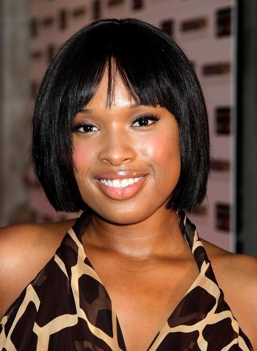 Most Current Jennifer Hudson Bob Hairstyles Regarding Black Bob Hairstyles For Black Women (View 12 of 15)