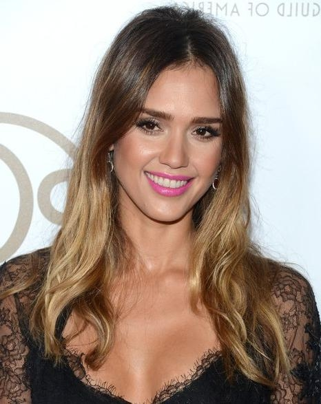 Most Current Jessica Alba Long Hairstyles Inside Jessica Alba Hair Styles: Ombre Long Hairstyle – Popular Haircuts (View 4 of 15)