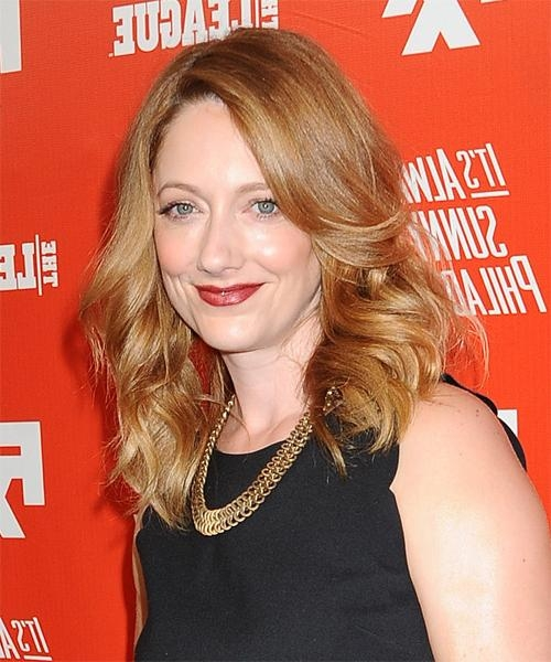 Most Current Judy Greer Shoulder Length Bob Hairstyles Throughout Judy Greer Hairstyles For  (View 10 of 15)