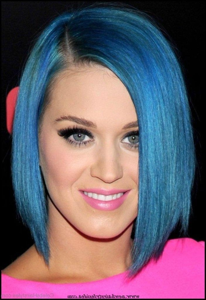Most Current Katy Perry Bob Hairstyles Pertaining To 55 Perfect Hairstyles Of Katy Perry (View 10 of 15)