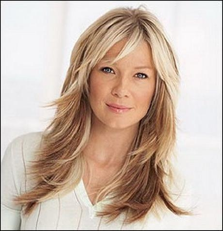 Most Current Long Haircuts With Bangs And Layers For Best 25+ Long Layers With Bangs Ideas On Pinterest | Hair With (View 5 of 15)