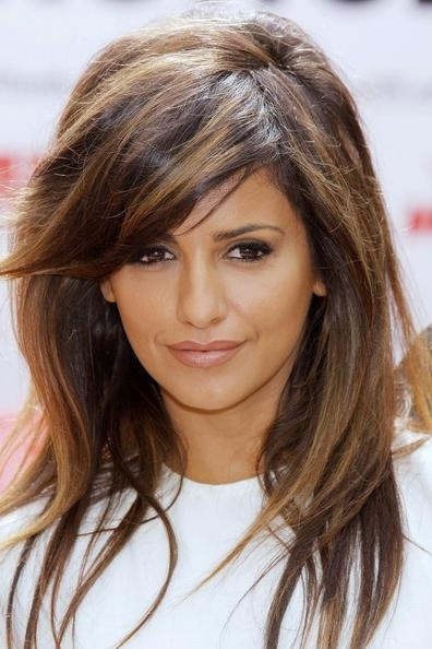 Most Current Long Haircuts With Side Swept Bangs With Regard To Long Layered Side Swept Bangs (View 8 of 15)