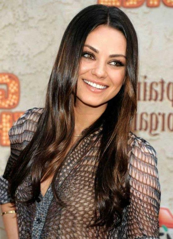 Most Current Long Hairstyles Brunette Layers Within 40 Most Popular Long Layered Haircuts – Beauty Epic (View 5 of 15)