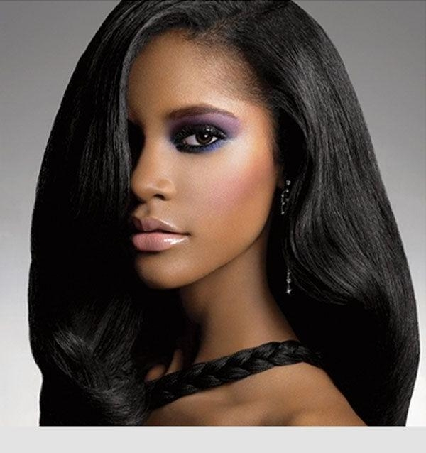 Most Current Long Hairstyles For African American Women With Regard To Long Weave Hairstyles For Black Women Long Hairstyles African (View 11 of 15)
