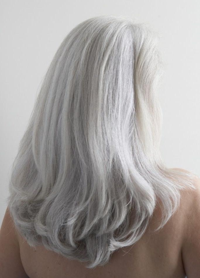 Most Current Long Hairstyles For Grey Hair With Regard To Best 25+ Long Gray Hair Ideas On Pinterest | Long Silver Hair (View 3 of 15)