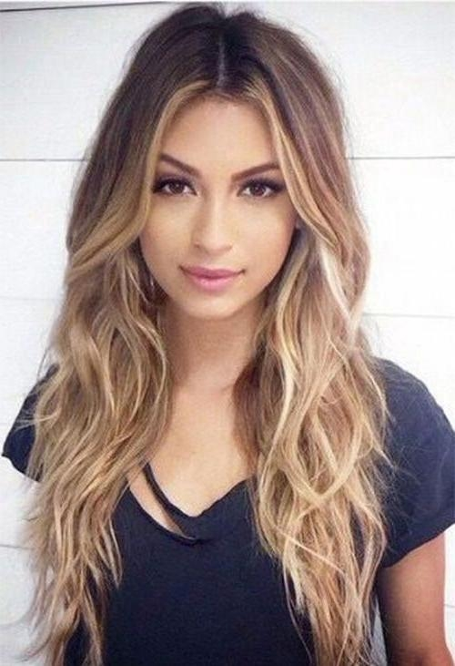 Most Current Long Hairstyles In Layers Throughout Best 25+ Long Layered Haircuts Ideas On Pinterest | Long Layered (View 8 of 15)
