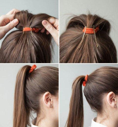Most Current Long Hairstyles With Bobby Pins In 15 Gorgeous Bobby Pin Hairstyles That You Can Easily Do In A (View 8 of 15)