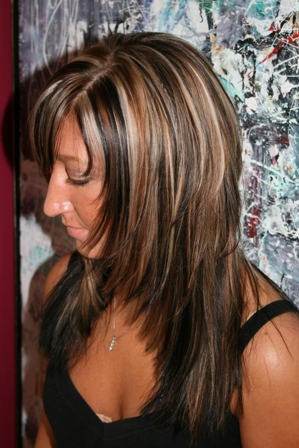 Most Current Long Hairstyles With Highlights And Lowlights For Best Medium Length Hairstyles With Highlights (View 6 of 15)