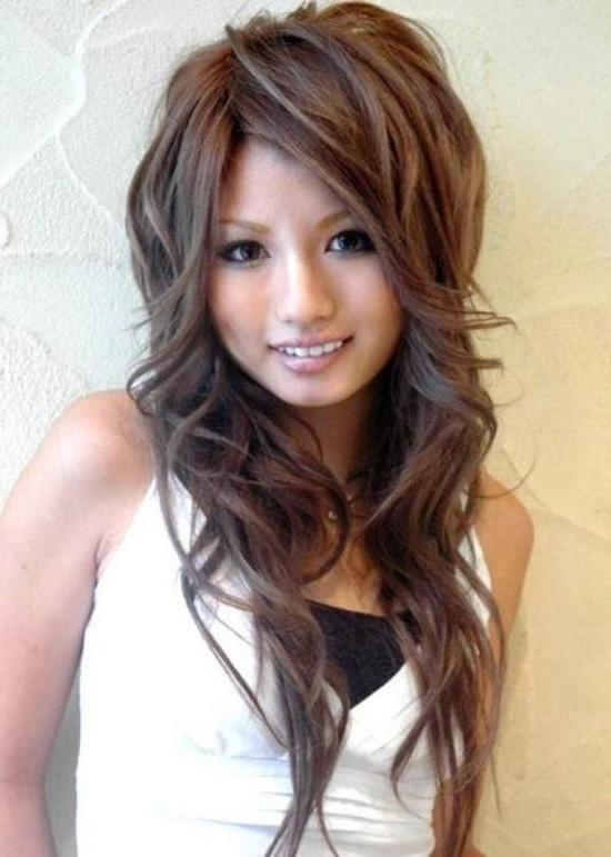 longer hair styles 15 best collection of hairstyles with layers on top 3696