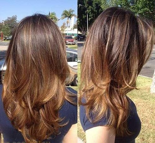 Most Current Medium Long Haircuts Within Best 25+ Medium Long Hairstyles Ideas On Pinterest | Long (View 9 of 15)