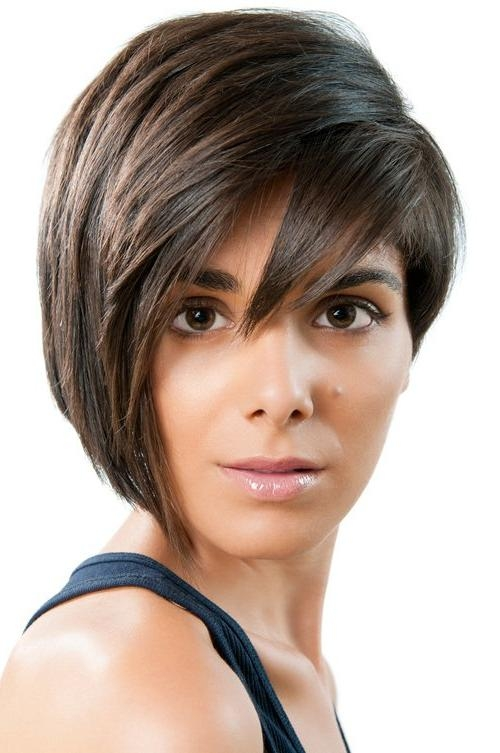 Most Current One Side Short One Side Long Hairstyles With Regard To Collection Of Feather Cut Hair Styles For Short, Medium And Long Hair (View 9 of 15)