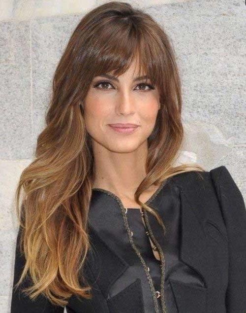 Most Current Round Face Long Hairstyles With Bangs In 2017 Latest Long Hairstyles With Bangs For Round Faces (View 8 of 15)