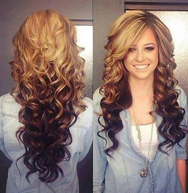 Most Current Two Tone Long Hairstyles With Regard To Two Tone Hair Color Ideas For Long Hair (View 9 of 15)