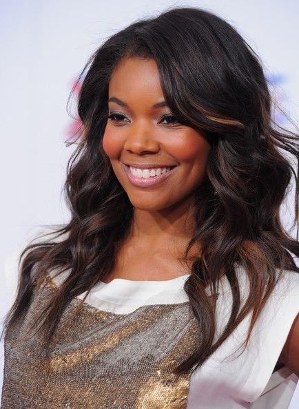 Most Popular Black American Long Hairstyles For 13 Best Dark Images On Pinterest   Black Hair, 2015 Short (View 9 of 15)