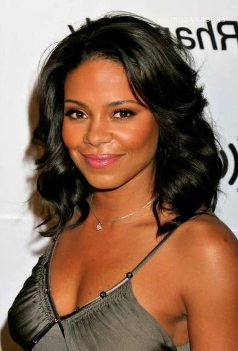 Most Popular Black American Long Hairstyles Intended For African American Prom Hairstyle Ideas – Best Prom Hairstyles For (View 15 of 15)