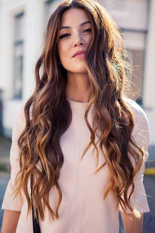 Most Popular Chic Long Hairstyles Throughout Long Wavy Haircut – Haircuts Models Ideas (View 10 of 15)