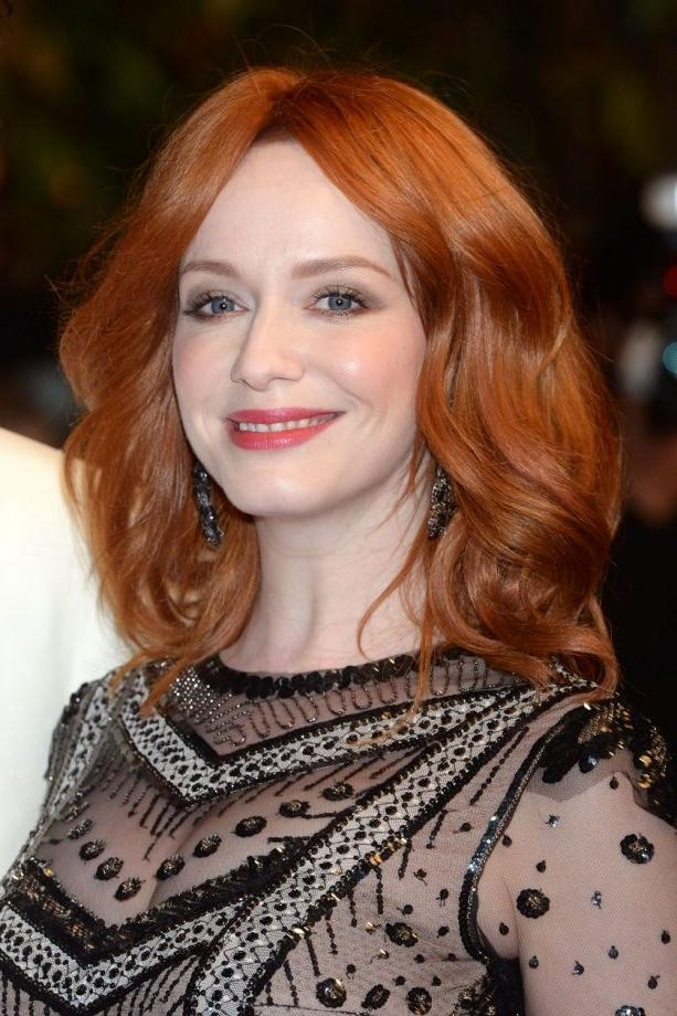Most Popular Christina Hendricks Bob Hairstyles With Bob Hairstyles: The Best Celebrity Bobs To Inspire Your Hairdo (View 13 of 15)