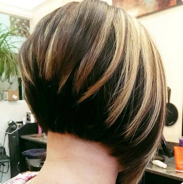 Most Popular Cute Inverted Bob Hairstyles For Fine Hair Inside 21 Hottest Stacked Bob Hairstyles – Hairstyles Weekly (View 5 of 15)
