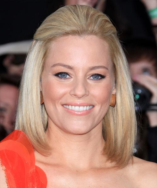 Most Popular Elizabeth Banks Shoulder Length Bob Hairstyles Throughout Elizabeth Banks Straight Formal Half Up Bob Hairstyle – Light (View 11 of 15)