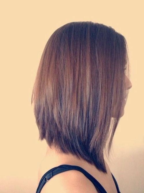 Most Popular Graduated Long Haircuts With Best 25+ Graduated Haircut Ideas On Pinterest | Long Graduated Bob (View 8 of 15)