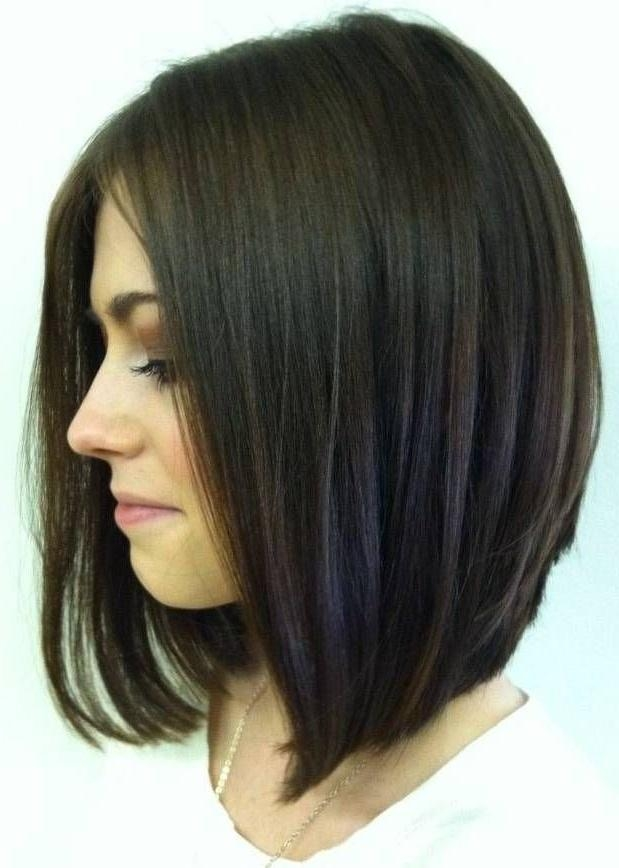 Most Popular Graduated Long Haircuts Within Best 25+ Long Graduated Bob Ideas On Pinterest | Graduated Bob (View 10 of 15)