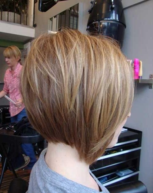 Photo Gallery Of Inverted Bob Haircut Back View Viewing 8 Of 15 Photos