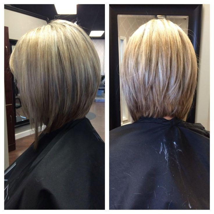 Most Popular Inverted Bob Haircut Back View Inside Best 25+ Bob Back View Ideas On Pinterest (View 6 of 15)