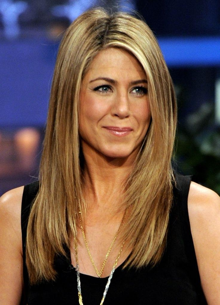 Most Popular Jennifer Aniston Long Haircuts In Jennifer Aniston Hair Cut | Stylish Hairs (View 9 of 15)