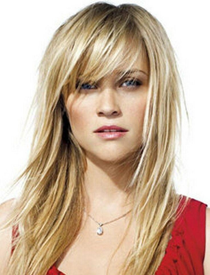 Most Popular Long Haircuts Side Swept Bangs Inside Best 25+ Side Sweep Bangs Ideas On Pinterest | Side Bangs Long (View 3 of 15)