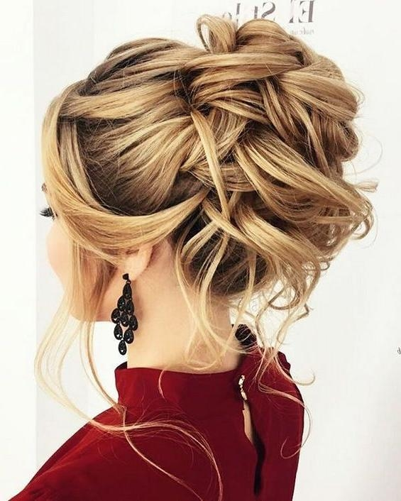 Most Popular Long Hairstyles For Wedding Party Within Best 25+ Bridesmaid Long Hair Ideas On Pinterest | Wedding (View 11 of 15)