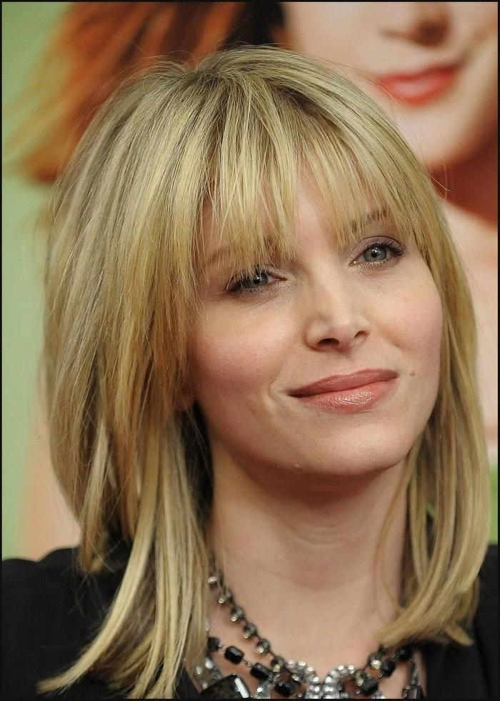 Most Popular Long Hairstyles For Women Over 40 With Bangs Throughout 45 Best Hair Styles For 50 Or Older Images On Pinterest (View 15 of 15)