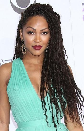 Most Popular Meagan Good Long Hairstyles In Hairstyles: Meagan Good – Long Braided Hairstyle | Sophisticated (View 11 of 15)