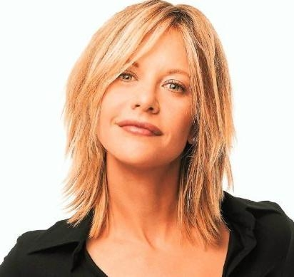 Most Popular Meg Ryan Long Hairstyles With Meg Ryan Hairstyles | Meg Ryan, Long Sides And Side Bangs (View 9 of 15)