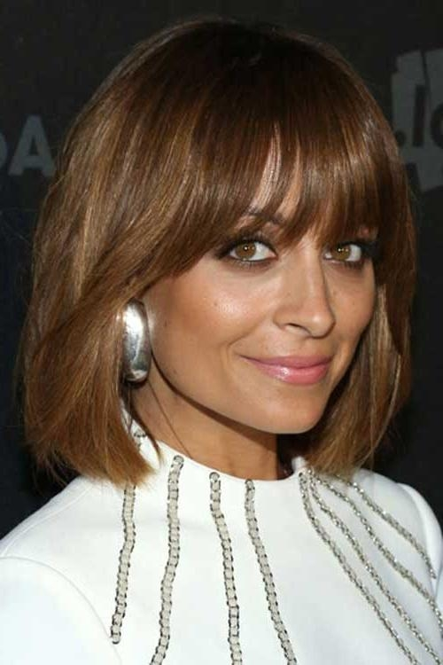 Most Popular Nicole Richie Shoulder Length Bob Hairstyles Regarding 15 Best Nicole Richie Bob (View 7 of 15)