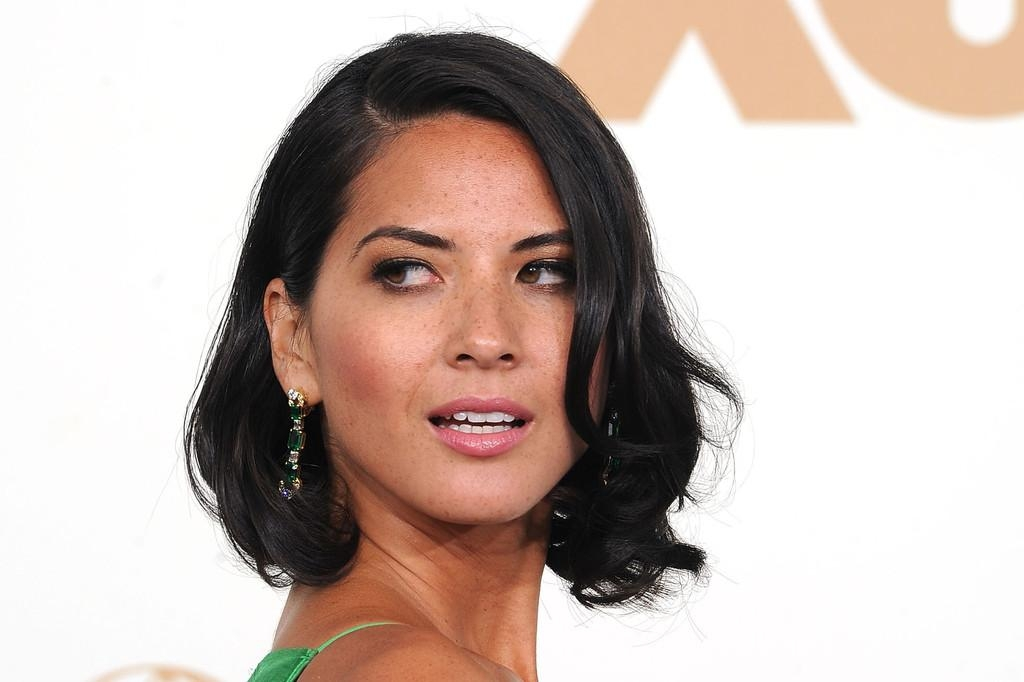 Most Popular Olivia Munn Shoulder Length Bob Hairstyles With Regard To Olivia Munn Mid Length Bob – Olivia Munn Shoulder Length (Gallery 9 of 15)
