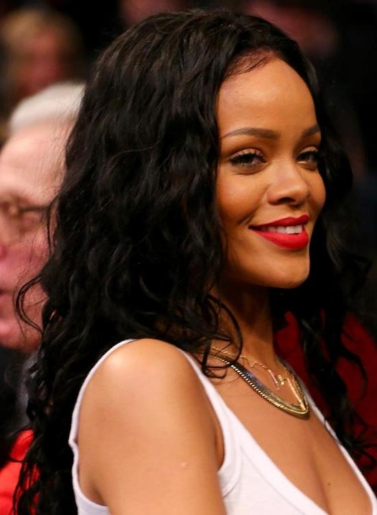 Most Popular Rihanna Long Hairstyles Regarding 50 Best Rihanna Hairstyles (View 7 of 15)