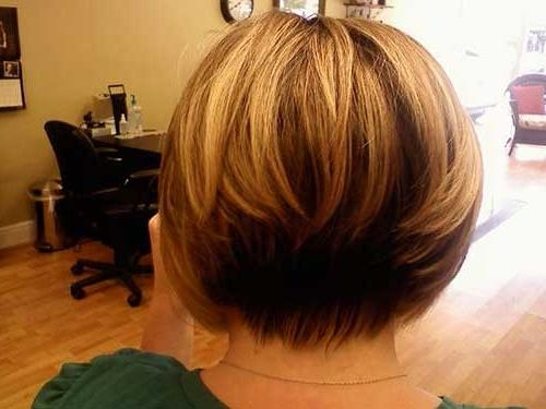 Most Popular Short Inverted Bob Haircut Back View Inside 15 Best Back View Of Bob Haircuts (View 5 of 15)