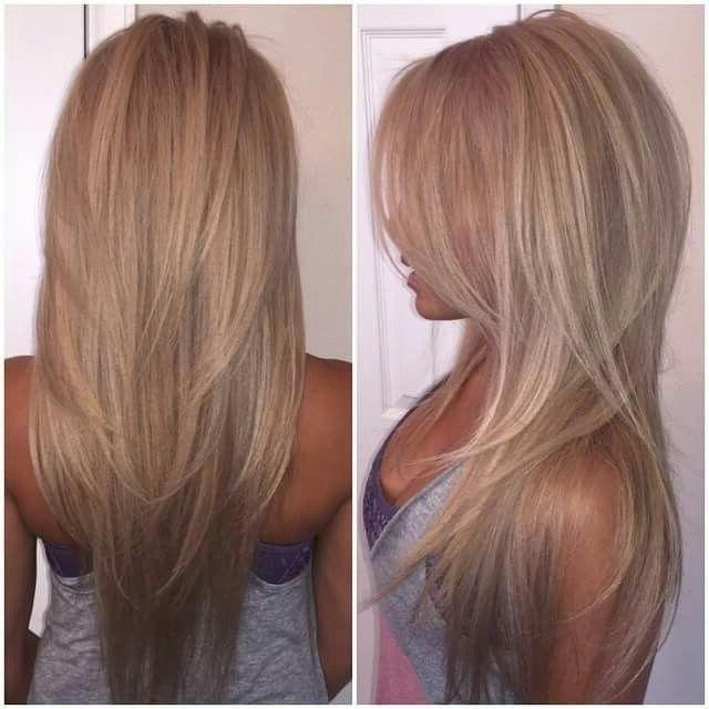 Most Popular Short Layered Long Hairstyles With Regard To Best 25+ Long Hair Short Layers Ideas On Pinterest | Long Thick (View 7 of 15)