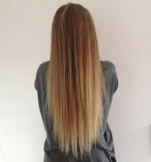 Most Recent Long Haircuts From The Back With Regard To 20 Simple Haircuts For Long Hair | Long Hairstyles 2016 –  (View 11 of 15)