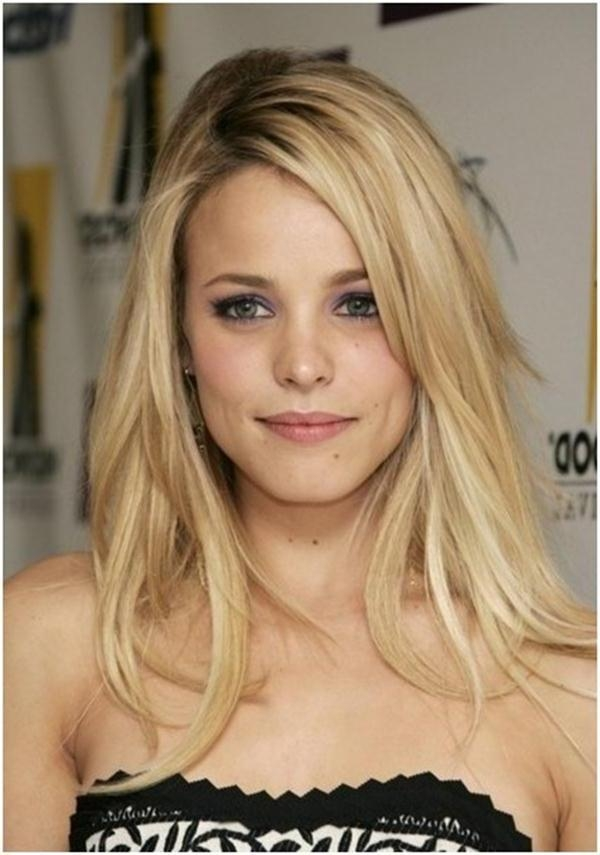 haircut for thin hair and oval 15 ideas of hairstyles for oval faces and hair 3826