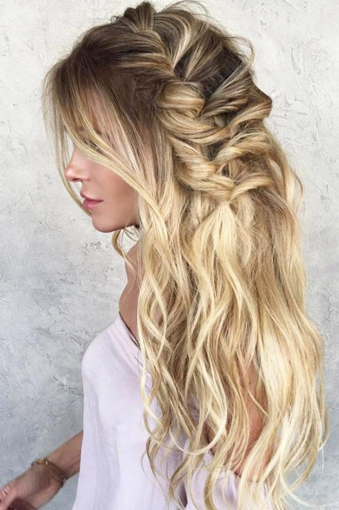 Most Recent Long Hairstyles For Wedding Party Regarding Hairstyles Ideas : Casual Wedding Guest Hairstyles The Best (View 10 of 15)