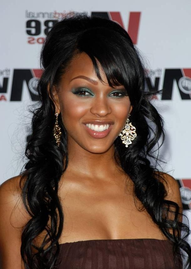 Most Recent Meagan Good Long Hairstyles Throughout Meagan Good Hairstyle Trends: Meagan Good Hairstyle Trends (View 12 of 15)