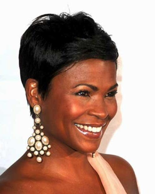 Most Recent Nia Long Hairstyles In 15+ Nia Long Pixie Cuts | Hairstyles & Haircuts 2016 –  (View 14 of 15)