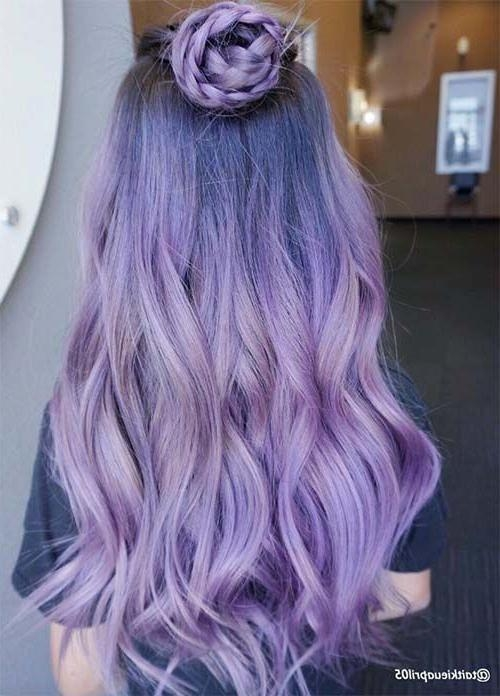 Most Recent Purple Long Hairstyles Within Best 25+ Purple Hair Styles Ideas On Pinterest | Bright Hair (View 9 of 15)