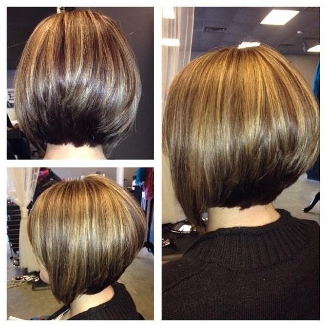 Photo Gallery Of Short Inverted Bob Haircut Back View Viewing 14 Of